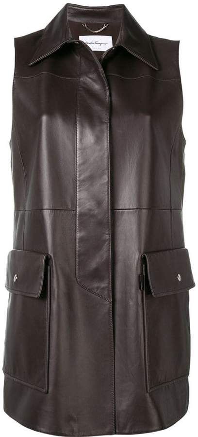classic fitted gilet