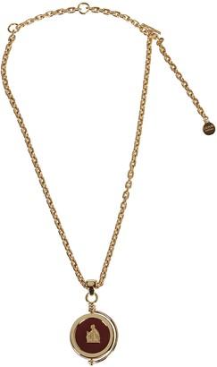 Lanvin Stone Pendant Necklace