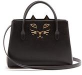 Charlotte Olympia Feline leather cross-body bag
