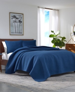 Nautica Haverhill Solid Quilt Set, King Bedding