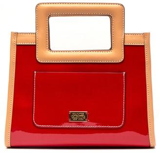 Frances Valentine Lindsay Patent Leather Bag