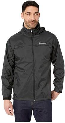 Columbia Glennaker Laketm Rain Jacket (Mountain Red/Graphite) Men's Coat