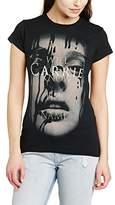 Carrie Women's Face Short Sleeve T-Shirt