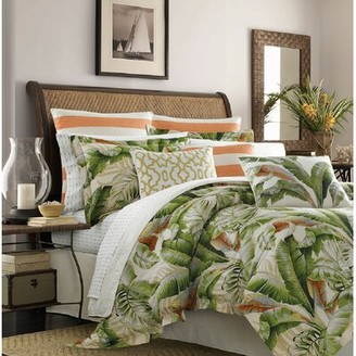 Tommy Bahama Home Tommy Bahama Palmiers Embroidered Trellis Throw Pillow