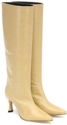 BY FAR Stevie 45 leather knee-high boots