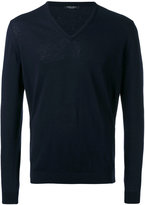 Roberto Collina v-neck sweater - men - Cotton - 48