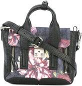 3.1 Phillip Lim Pashli mini satchel - women - Calf Leather/Cotton - One Size