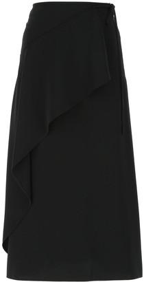 Kenzo Wrap Midi Skirt