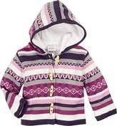 Schnizler Baby Knitting Janker Ringed Warm Padded Cardigan,(Manufacturer Size:74)