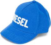 Diesel embroidered logo cap - kids - Cotton - 48 cm