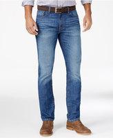 Tommy Hilfiger Men's Hamilton Straight-Fit Medium Blue Wash Jeans