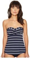 Seafolly Castaway Stripe Wrap Front Trapeze Singlet Top Women's Swimwear
