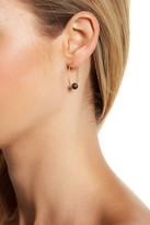 Botkier Stone Accented C-Hoop Earrings