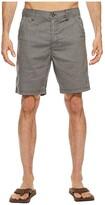 Prana Furrow 8 Short (Mud) Men's Shorts
