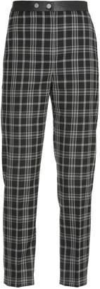 Neil Barrett Checked Pattern Trousers