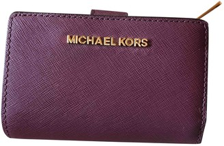 Michael Kors Purple Leather Wallets
