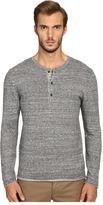 Billy Reid Long Sleeve Sweater Henley Men's Sweater