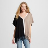 262.5 Women's Poncho Sweater (One Size Fits Most)
