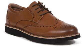 Deer Stags Walkmaster Men's Water Resistant Wingtip Dress Shoes