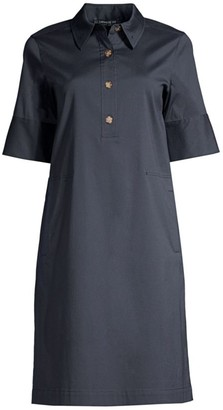 Lafayette 148 New York Conroy Henley Shift Dress