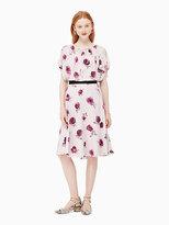 Kate Spade Encore rose flutter dress