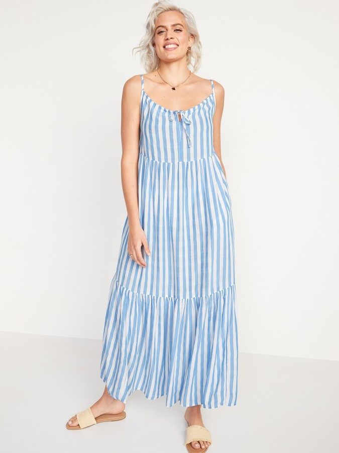 Thumbnail for your product : Old Navy Tiered Maxi Swing Sundress for Women