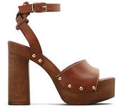 Kenneth Cole Kali Leather Buckled Sandal