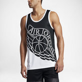 Nike Jordan Wings Blockout Men's Basketball Tank