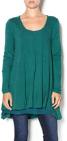 Umgee USA Layered Flare Tunic