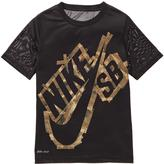Nike Boys' Tape Logo Tee