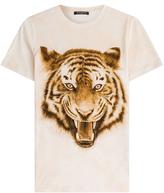 Balmain T-shirt en coton imprimé