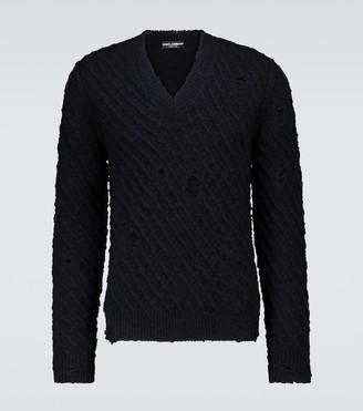 Dolce & Gabbana Wool-blend sweater