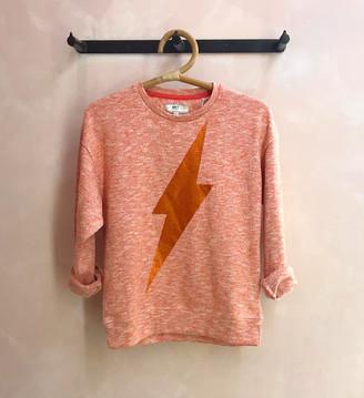 MKT Studio Orange Lightning Sweatshirt - cotton | orange | XS - Orange/Orange