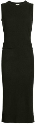 Akris Punto Wool & Cashmere Sleeveless Knit Double Dress