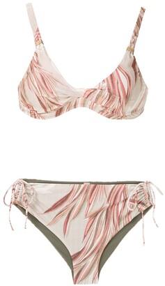 Lygia & Nanny Marcela printed bikini suit