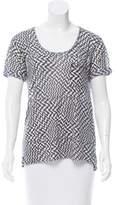 Rag & Bone Printed Short Sleeve T Shirt