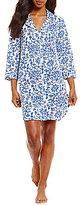 Lauren Ralph Lauren Scroll-Print Jersey Sleepshirt