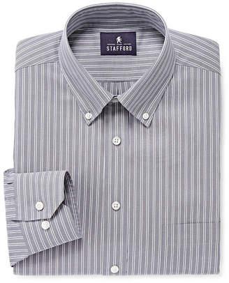Stafford Executive Non-Iron Pinpoint Oxford Dress Shirt