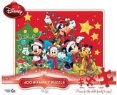 Disney Disney's Mickey Mouse Christmas Thomas Kinkade 400-piece Jigsaw Puzzle