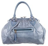 Marc Jacobs Embossed Leather Stam Bag