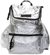 DSQUARED2 Silver Nylon Backpack