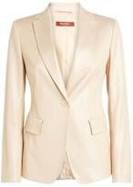 Max Mara Glitter-Embellished Leonida Jacket