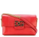 Dolce & Gabbana Dolce E Gabbana Women's Red Leather Shoulder Bag.
