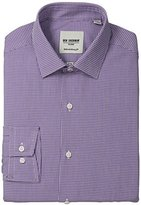 Ben Sherman Men's Skinny Fit Mini Gingham Dress Shirt