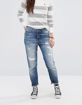 Maison Scotch L'Adorable Faux Rip Boyfriend Jeans