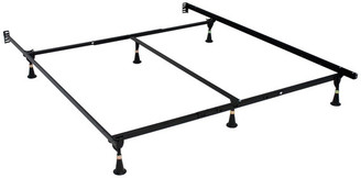 Hollywood Bed & Spring Mfg. Co., Inc. Atlas-Lock Keyhole Glides Bed Frame, Queen/King/Cal King