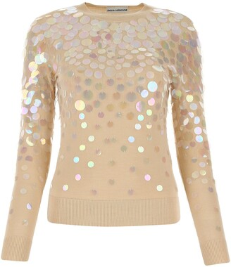 Paco Rabanne Sequin-Embellished Sweater