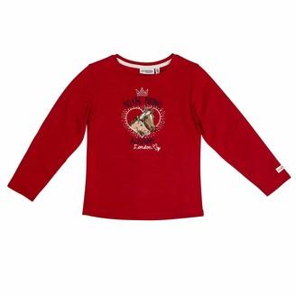 Salt&Pepper Salt and Pepper Girls' Horses Royal Riding Academy Pferdekopfe Longsleeve T-Shirt