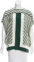 Louis Vuitton Oversize Striped Top