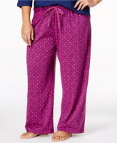 Karen Neuburger Plus Size Printed Pajama Pants